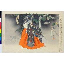 Tsukioka Kogyo: Nogaku zue (Pictures of No Theatre) - British Museum
