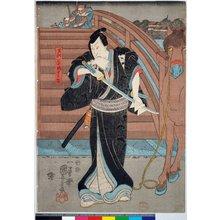 歌川国貞: diptych print - 大英博物館