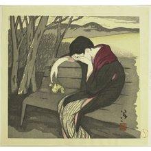 Takehisa Yumeji: Woman in Despair - British Museum