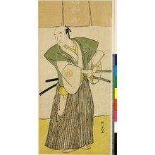 勝川春好: print (?) - 大英博物館