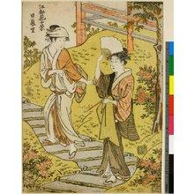Torii Kiyonaga: Nippori / Koto Hana Ju-kei - British Museum