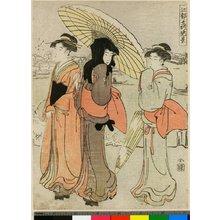 勝川春潮: Edo Jisho Zekkei - 大英博物館