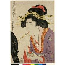 Torii Kiyomine: Azuma Nishiki Bijin Awase - British Museum