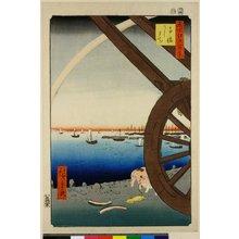 歌川広重: No 81 Takanawa Ushi-machi / Meisho Edo Hyakkei - 大英博物館