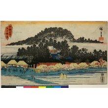 Utagawa Hiroshige: Oji Inari / Koto Meisho - British Museum