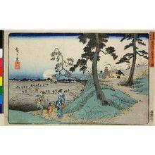Utagawa Hiroshige: Dokanyama mushi-kiki no zu / Toto Meisho - British Museum