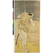 勝川春章: diptych print - 大英博物館