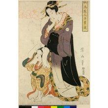 菊川英山: Furyu Bijin Ko-dakara Asobi - 大英博物館