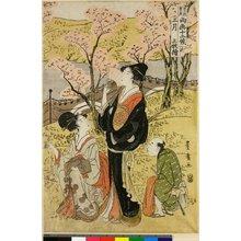 Utagawa Toyohiro: Sangatsu Sanmai Zuzuki / Toyokuni-Toyohiro Ryoga Juni-ko - British Museum