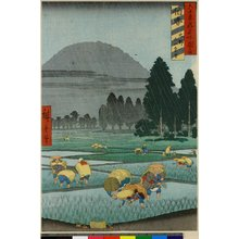 Utagawa Hiroshige: Hoki Ono Oyama embo / Rokuju-yo Shu Meisho Zue - British Museum