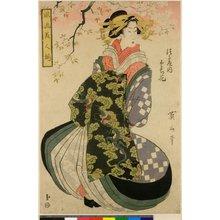 Kikugawa Eizan: Furyu bijin-zoroi - British Museum