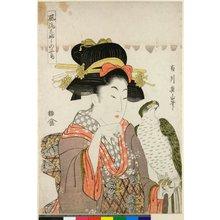 菊川英山: Furyu kobushi no seicho - 大英博物館