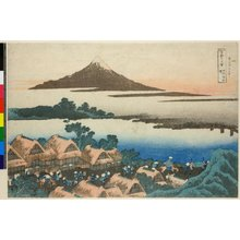 Katsushika Hokusai: Koshu Isawa no akatsuki 甲州伊沢曉 (Dawn at Isawa in Kai Province) / Fugaku sanju-rokkei 冨嶽三十六景 (Thirty-Six Views of Mt Fuji) - British Museum