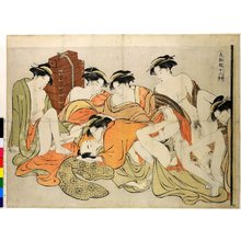 Katsukawa Shuncho: Shiki burui juni-ko 色部類十二好 (Twelve Tastes in the Classification of Passion) - British Museum