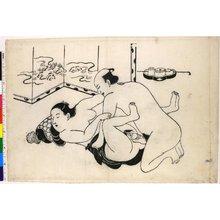鳥居清信: shunga / print - 大英博物館