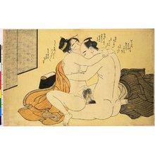 勝川春潮: Roku Amida (6 Amida Pilgrimages) - 大英博物館