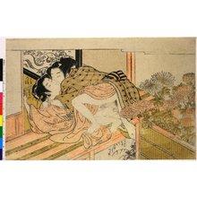 Isoda Koryusai: Enshoku ho ya ho (Sensual Colours: A Phoenix Released in a Field) - British Museum