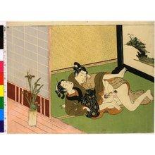 磯田湖龍齋: shunga - 大英博物館