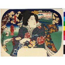 Utagawa Kuniyoshi: Edo no meisho 江戸の名所 (Famous Places in Edo) - British Museum
