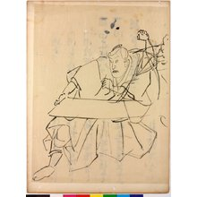 歌川国芳: drawing - 大英博物館