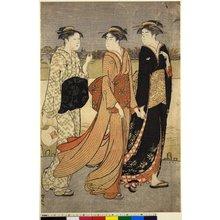 Torii Kiyonaga: diptych print - British Museum