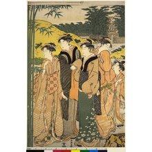 Katsukawa Shuncho: mitate-e / diptych print - British Museum