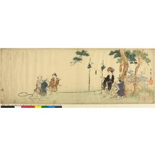 大岡雲峰: surimono / print - 大英博物館