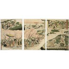 菊川英山: Rosei kantan issui no yume 魯生耶潭一炊夢 (Lu Sheng's Transient Dream at Handan) - 大英博物館