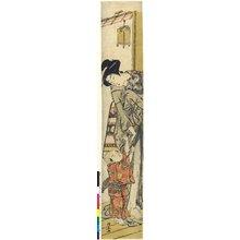 Torii Kiyonaga: print / hashira-e - British Museum