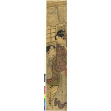 Eishosai Choki: print / hashira-e - British Museum