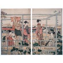 喜多川歌麿: - 大英博物館
