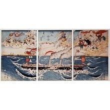河鍋暁斎: Kaijo anzen - 大英博物館