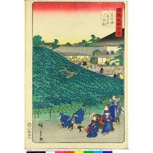 Utagawa Hiroshige II: Senshu Sakai Naniwaya no matsu 泉州堺なにわやの松 / Shokoku meisho hyakkei 諸国名所百景 - British Museum