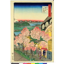 Utagawa Hiroshige II: Bushu Yokohama Gankiro 武州横浜岩亀楼 / Shokoku meisho hyakkei 諸国名所百景 - British Museum