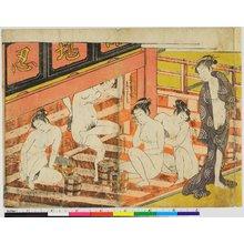 磯田湖龍齋: shunga / print - 大英博物館