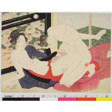 Keisai Eisen: shunga / egoyomi - British Museum