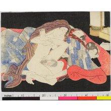 渓斉英泉: shunga / egoyomi - 大英博物館