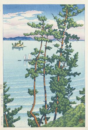 Kawase Hasui: Nishi Park, Fukuoka, from the series Souvenirs of Travel, Third Series - University of Wisconsin-Madison
