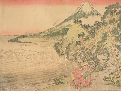 北尾政美: Tonase and Konami on the Tokaido, Act Eight from the series Perspective Pictures of Chushingura - ウィスコンシン大学マディソン校