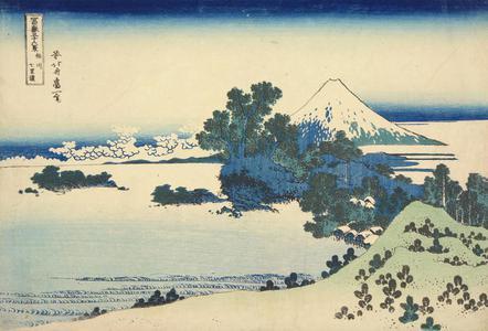 Katsushika Hokusai: Shichiri Beach in Sagami Province, from the series Thirty-six Views of Mt. Fuji - University of Wisconsin-Madison