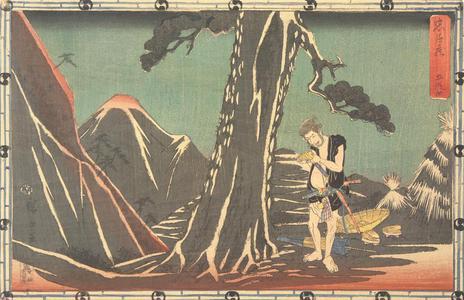 歌川広重: Act Five, from the series Chushingura - ウィスコンシン大学マディソン校