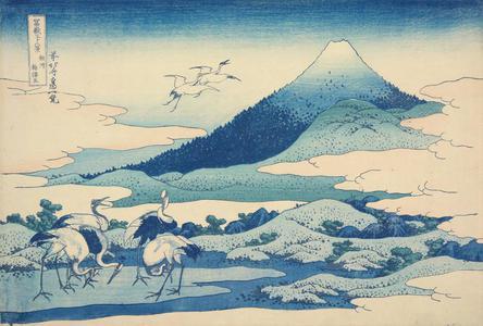 Katsushika Hokusai: Near Umezawa in Sagami Province, from the series Thirty-six Views of Mt. Fuji - University of Wisconsin-Madison