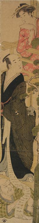 細田栄之: Act Seven of the Play Chushingura - ウィスコンシン大学マディソン校