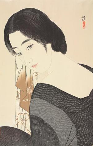 朝井清: Woman with Hand Towel - ウィスコンシン大学マディソン校