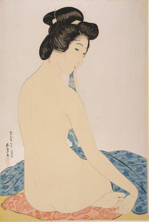 Hashiguchi Goyo: After the Bath - University of Wisconsin-Madison