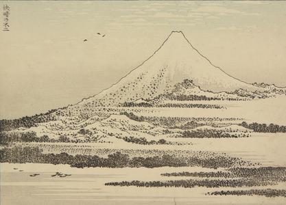 Katsushika Hokusai: Mt. Fuji in Clear Weather - University of Wisconsin-Madison
