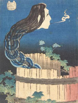 Katsushika Hokusai: The Dish Mansion, from the series One Hundred Ghost Tales - University of Wisconsin-Madison