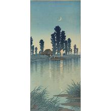 Kawase Hasui: Dusk at Itako - University of Wisconsin-Madison