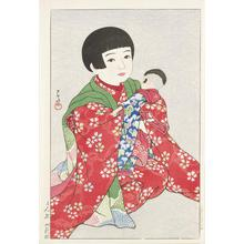 Kawase Hasui: A Doll, from the series Twelve Subjects of Children - University of Wisconsin-Madison
