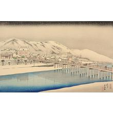 Hashiguchi Goyo: The Great Bridge at Sanjo in Kyoto - University of Wisconsin-Madison